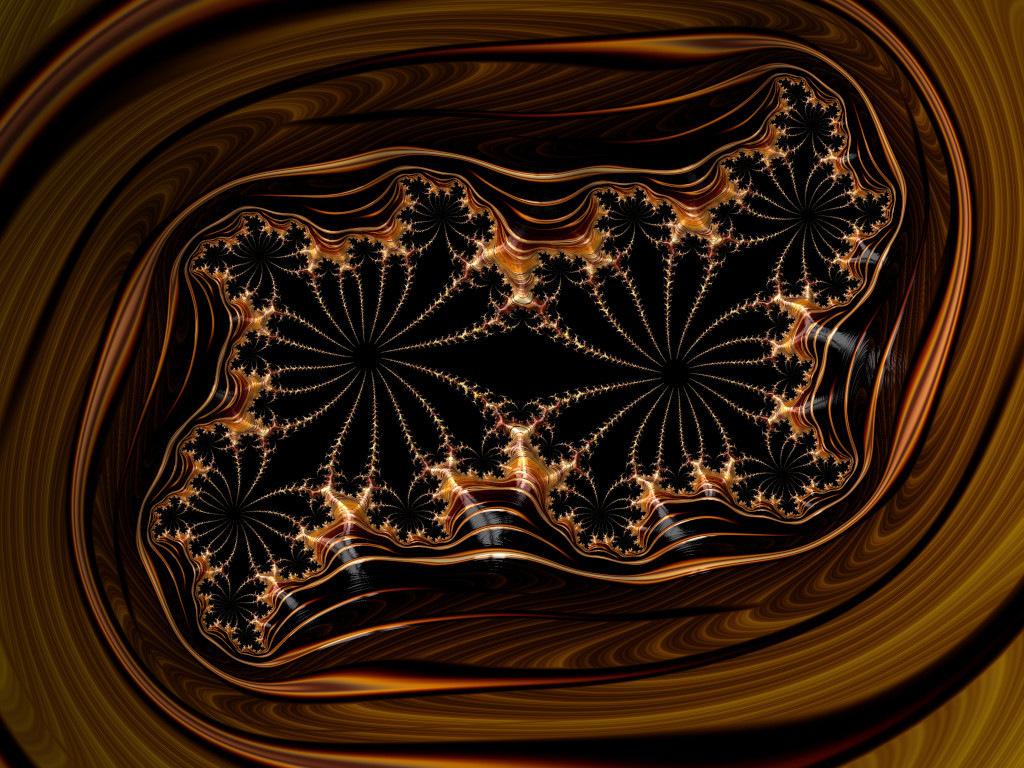 Polterbytes mahogany frame
