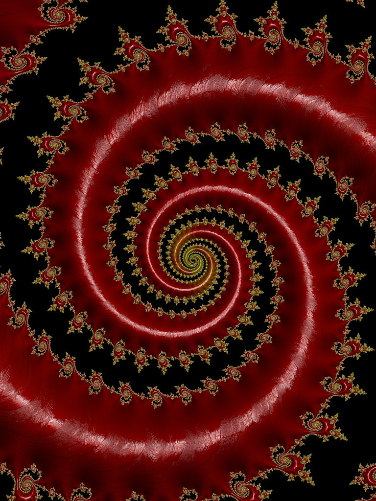 Golden-Spiked Spiral