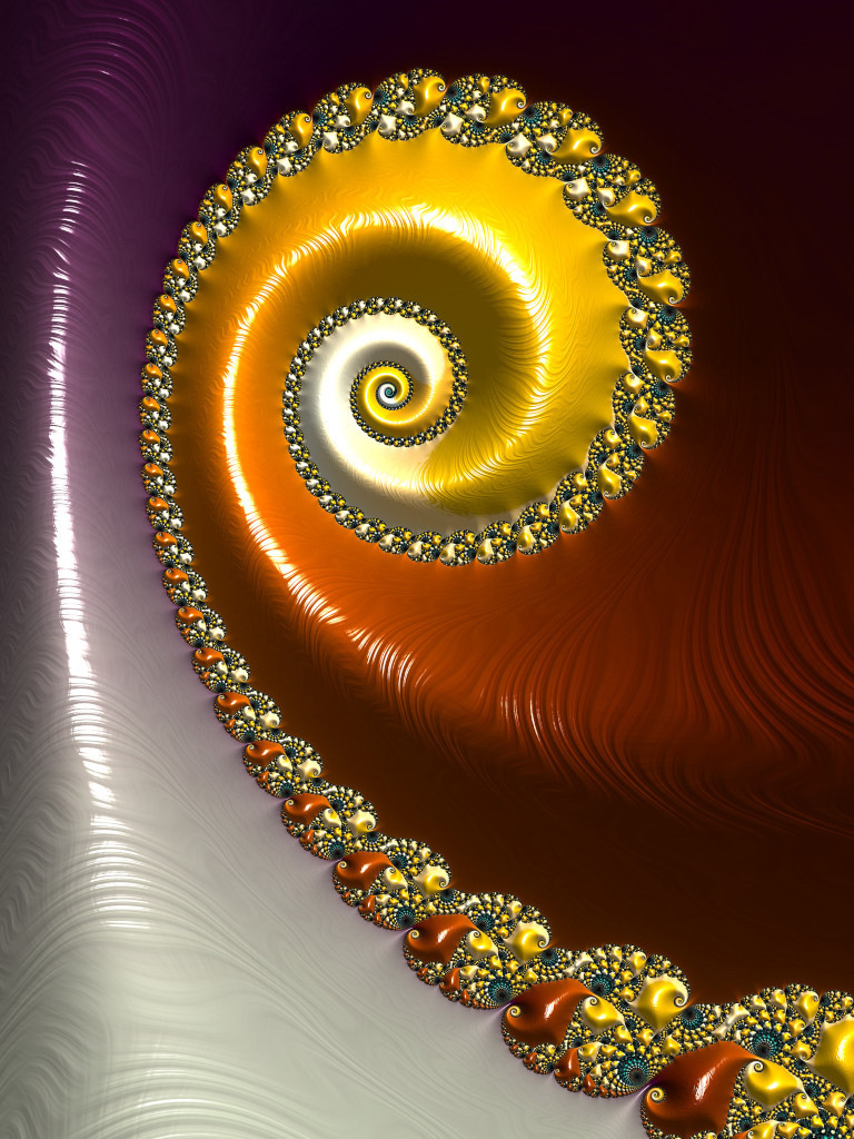 Gilded Swirl