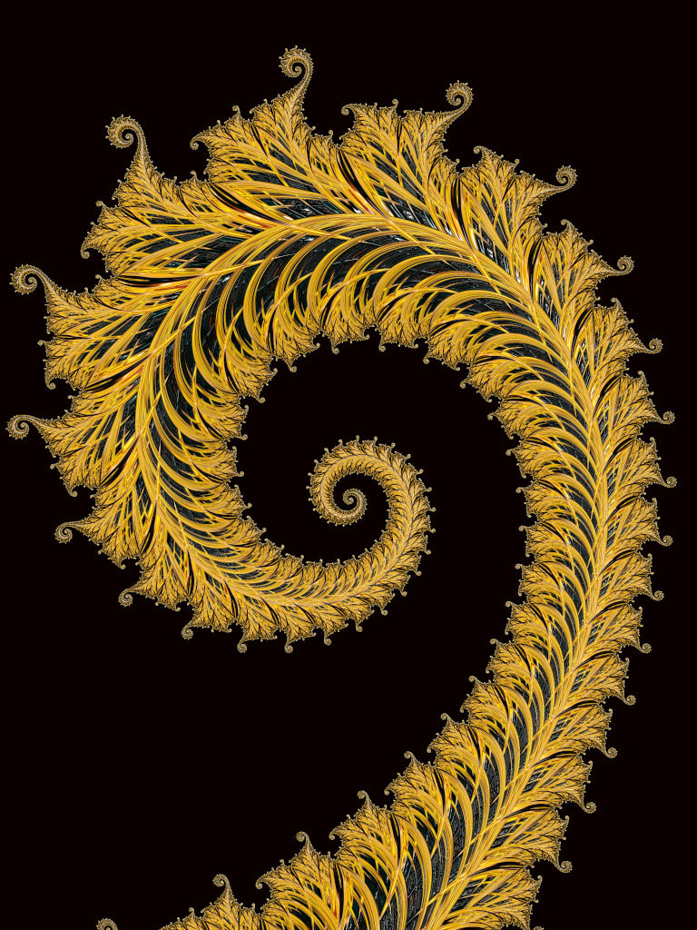 Solid Gold Fractal