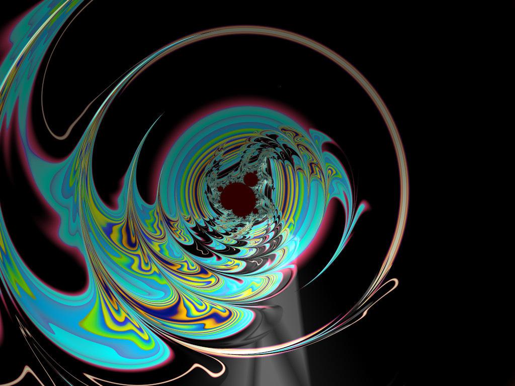View Through A Bubble